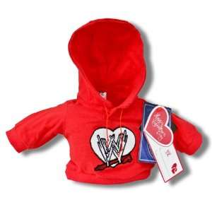 WWE Red Happy Valentines Day Teddy Bear Mini Sweater