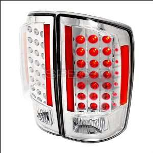 Dodge Ram 2007 2008 LED Tail Lights   Chrome Automotive