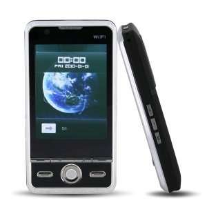 Touch Screen Dual Sim Standby Phone(Black) Cell Phones & Accessories