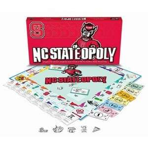 North Carolina State Wolfpack NCAA Monopoly Game Toys & Games