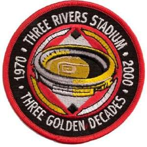 Logo Patch   Pittsburgh Pirates Three River Stadium