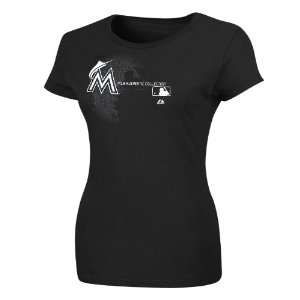 MLB Womens Miami Marlins AC Change Up Tee