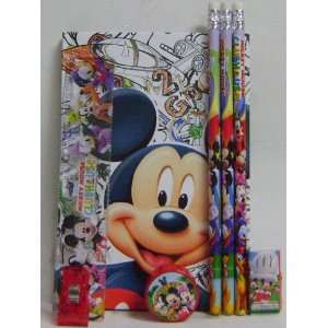 Fun Mickey Mouse Kids Diary & Stationery Set Toys & Games