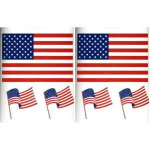 American Flags Decorative Wall Decals