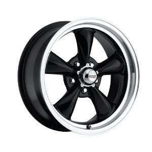15 inch 15x7 100 B Classic Series Black aluminum wheels rims licensed