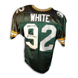 Reggie White Signed Football   Jersey