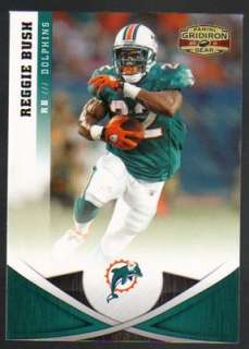 2011 Panini Gridiron Gear Football #116 Reggie Bush Miami Dolphins