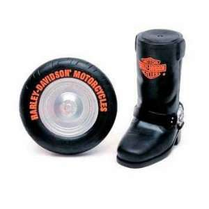 C Harley Davidson Vinyl Toy   black Boot