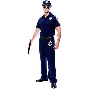 Police Officer Adult Halloween Costume Halloween